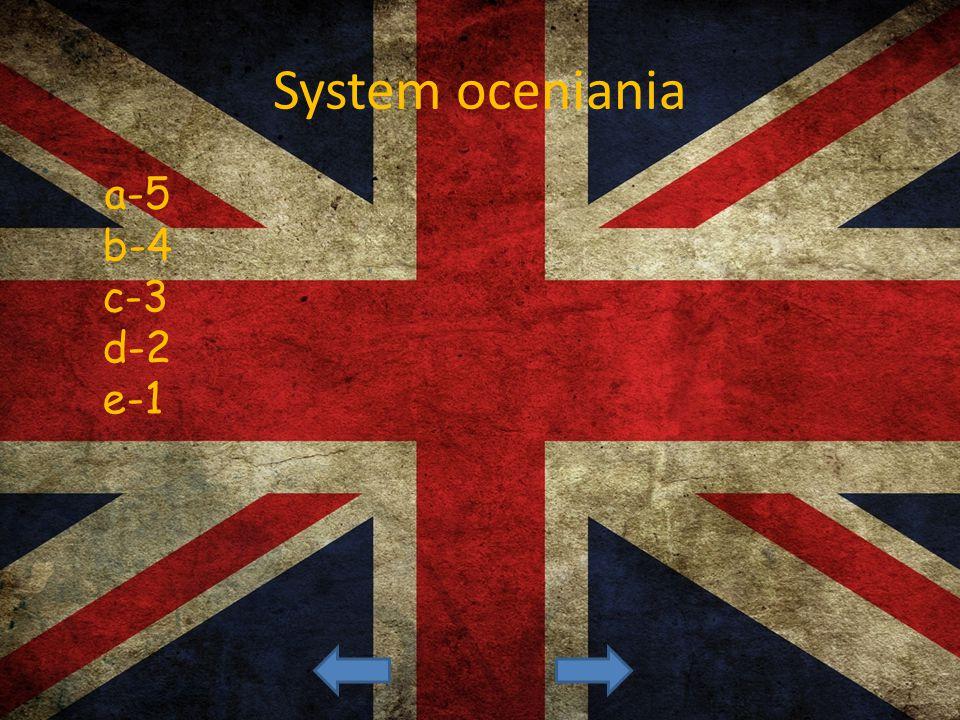 System oceniania a-5 b-4 c-3 d-2 e-1