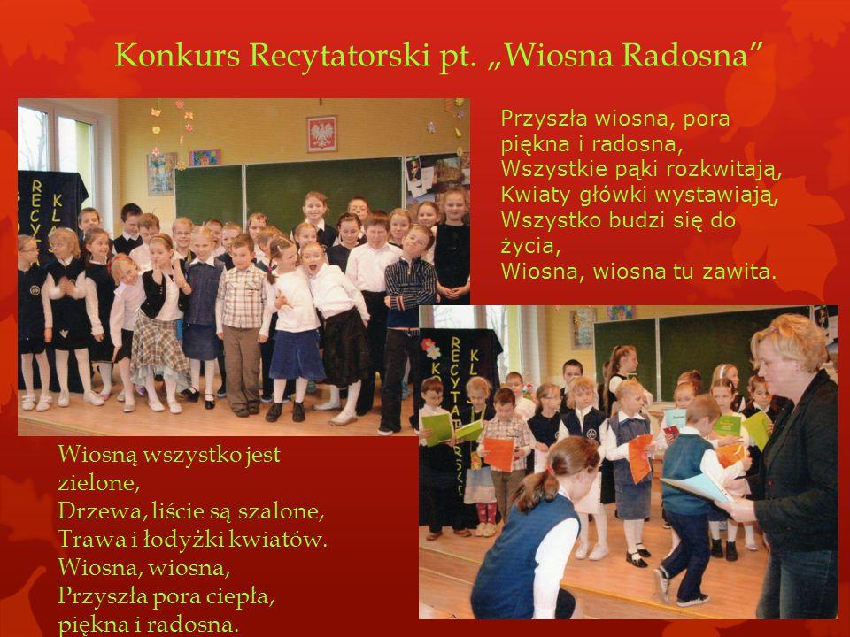 Konkurs Recytatorski pt.