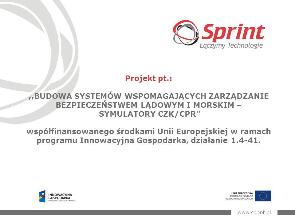 2 Celem projektu jest opracowanie symulatora: morskiego i lądowego wspomagającego proces szkolenia i oceny dyspozytorów Centrów Zarządzania Kryzysowego i Powiadamiania Ratunkowego.