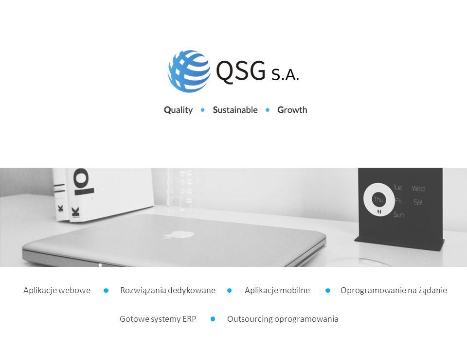 Aplikacje webowe Rozwiązania dedykowane Aplikacje mobilne Oprogramowanie na żądanie Gotowe systemy ERP Outsourcing oprogramowania