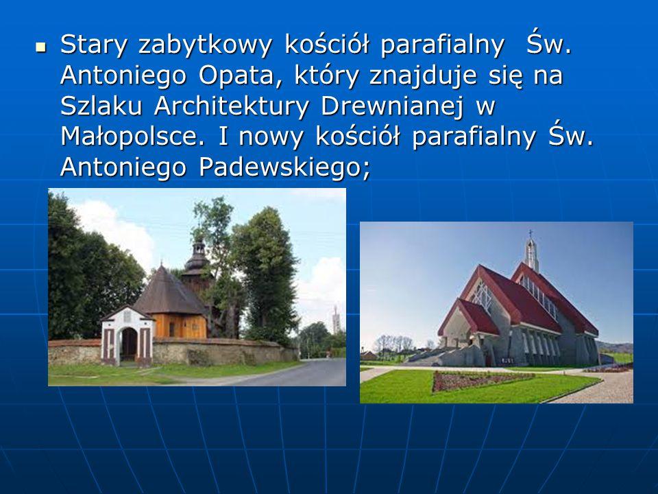 Stary zabytkowy kościół parafialny Św.