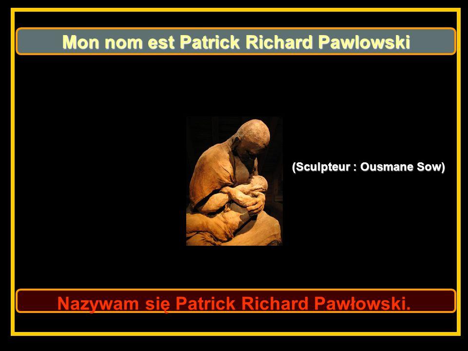 Nazywam się Patrick Richard Pawłowski.