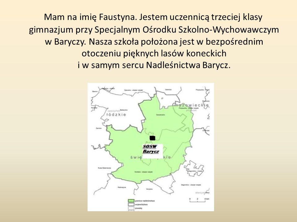 Mam na imię Faustyna.