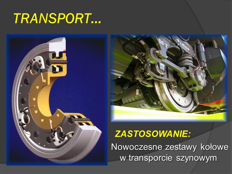 TRANSPORT… ZASTOSOWANIE: Nowoczesne zestawy kołowe w transporcie szynowym