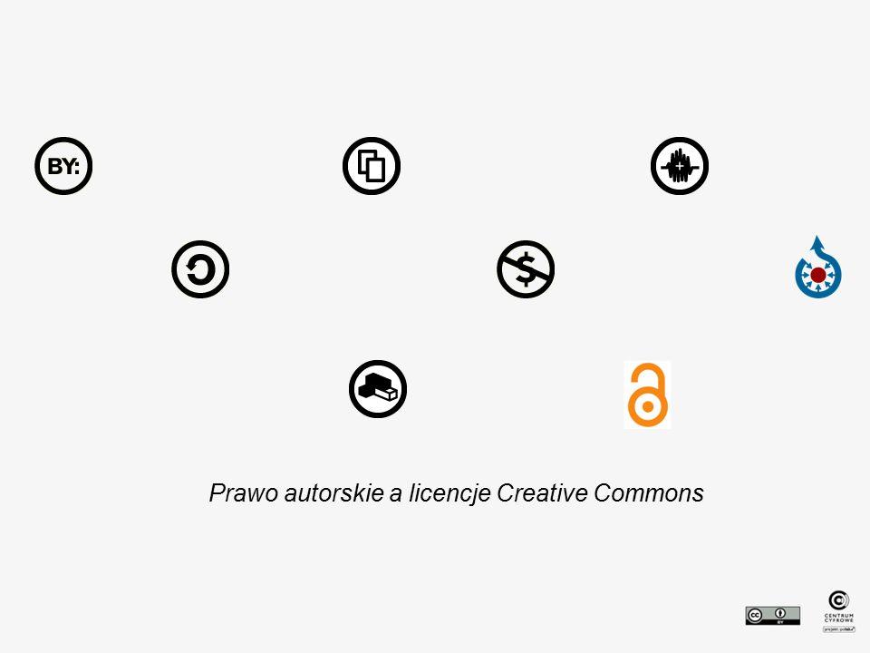 Prawo autorskie a licencje Creative Commons