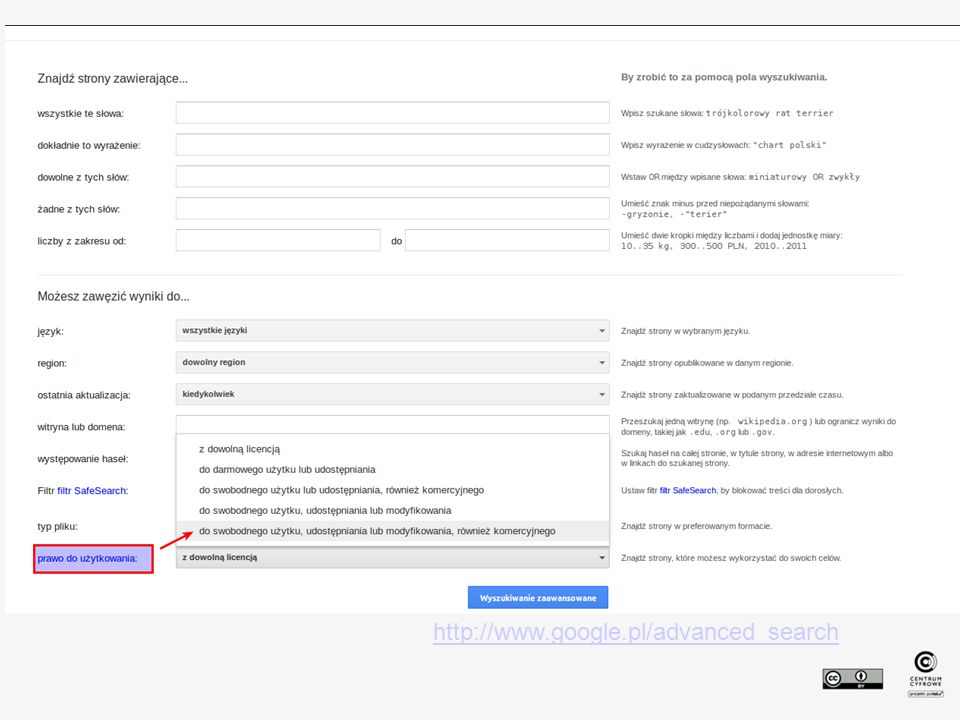 http://www.google.pl/advanced_search