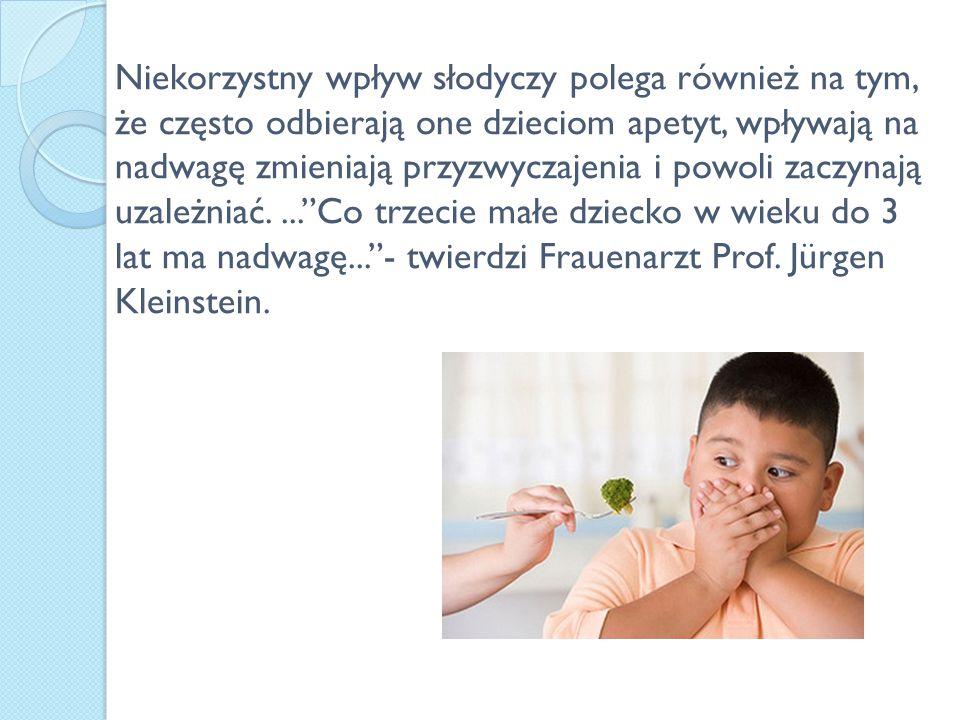 Według dziesięcioletnich badań prowadzonych przez Uniwersytet w Magdeburgu dzieci ciągle przybierają na wadze.
