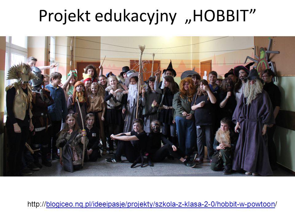 "Projekt edukacyjny ""HOBBIT"" http://blogiceo.nq.pl/ideeipasje/projekty/szkola-z-klasa-2-0/hobbit-w-powtoon/blogiceo.nq.pl/ideeipasje/projekty/szkola-z-"