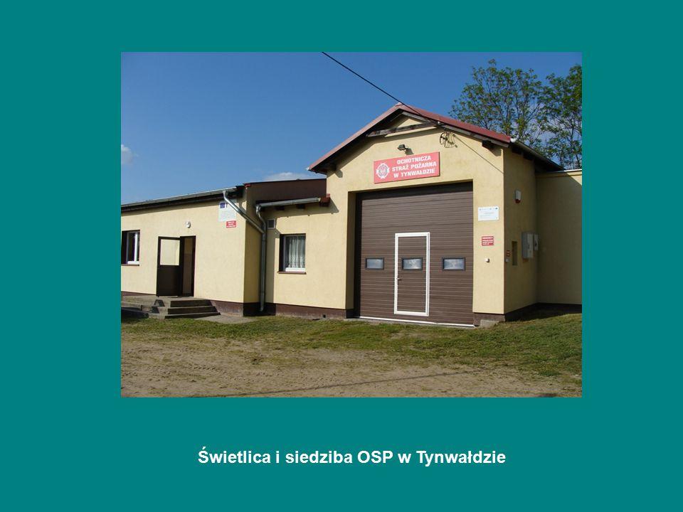 Świetlica i siedziba OSP w Tynwałdzie
