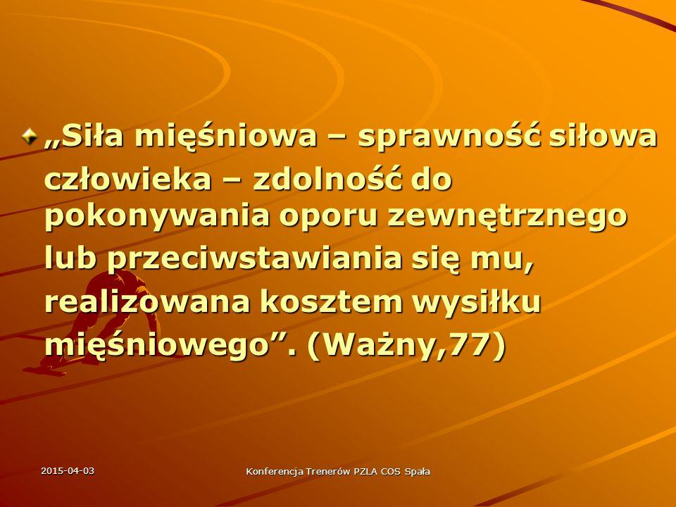 2015-04-03 Konferencja Trenerów PZLA COS Spała siła m > max.