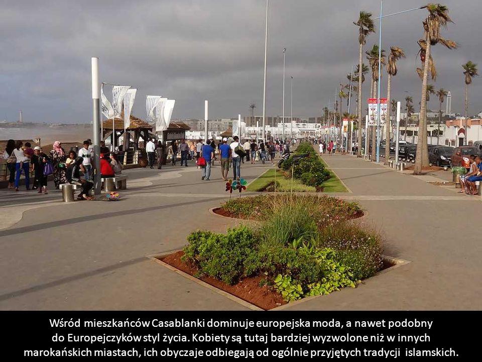 Casablanca – plaże nad Atlantykiem