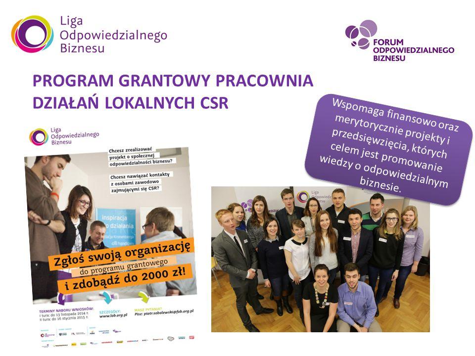 KONKURS CSR 12 województw Ogólnopolski konkurs wiedzy o CSR dla studentów oraz licealistów.