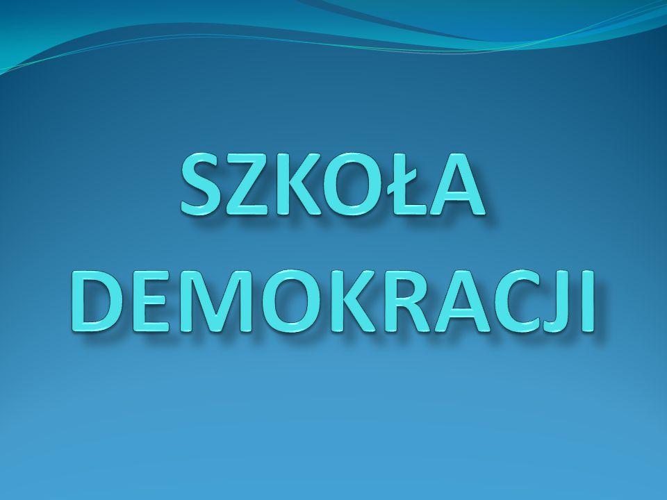 DEMOKRACJA forma organizacji życia społecznego, w której wszyscy uczestniczą w podejmowaniu decyzji i szanują prawa i wolność innych ludzi Słownik Języka Polskiego PWN forma organizacji życia społecznego, w której wszyscy uczestniczą w podejmowaniu decyzji i szanują prawa i wolność innych ludzi Słownik Języka Polskiego PWN