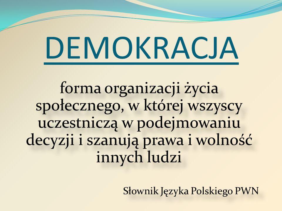 Jak działa demokracja w naszej szkole?