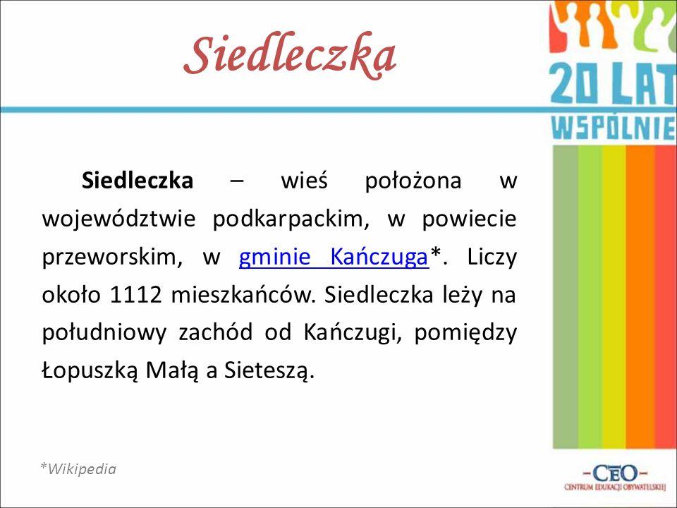 Siedleczka – wieś położona w województwie podkarpackim, w powiecie przeworskim, w gminie Kańczuga*. Liczy około 1112 mieszkańców. Siedleczka leży na p