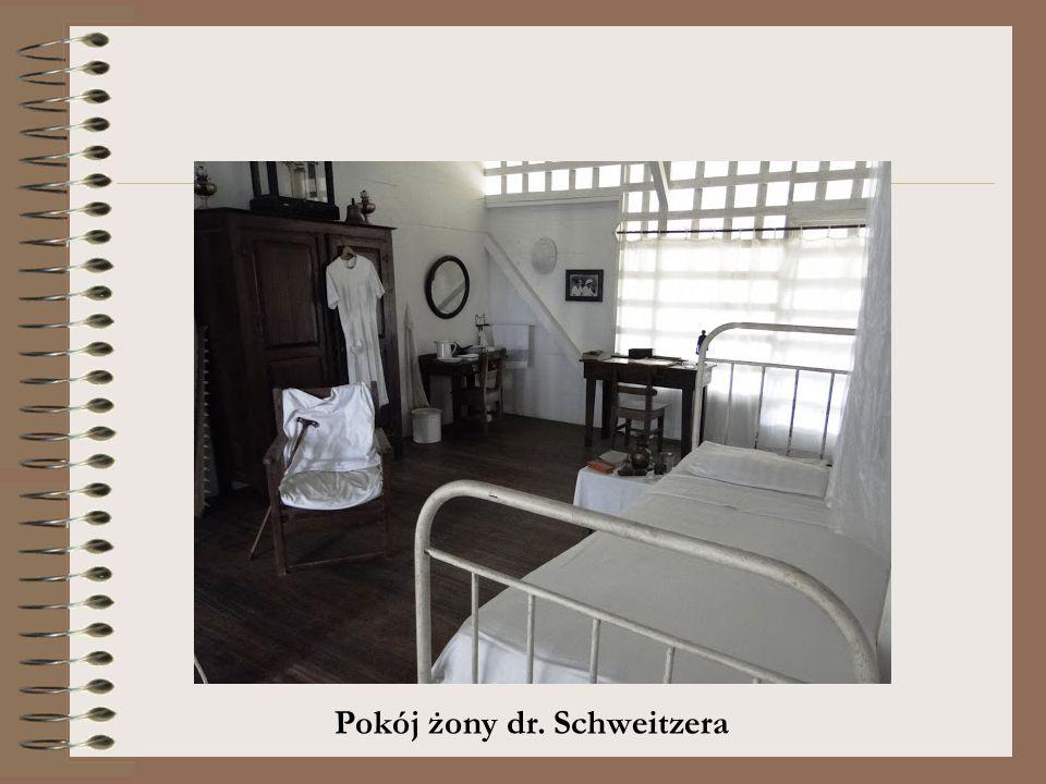 Pokój żony dr. Schweitzera