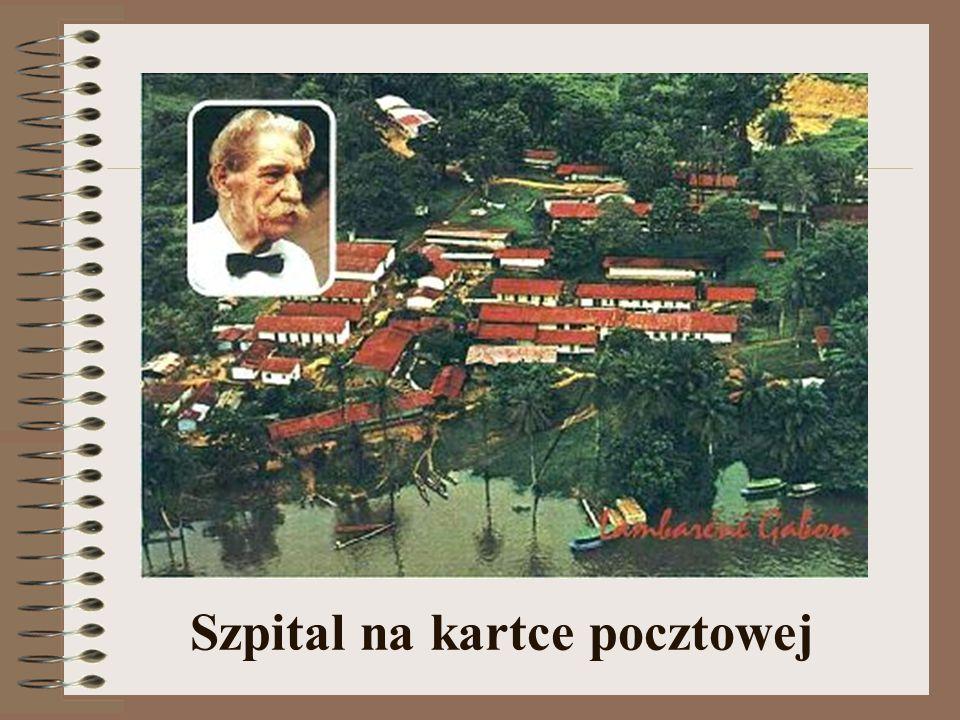 Szpital na kartce pocztowej