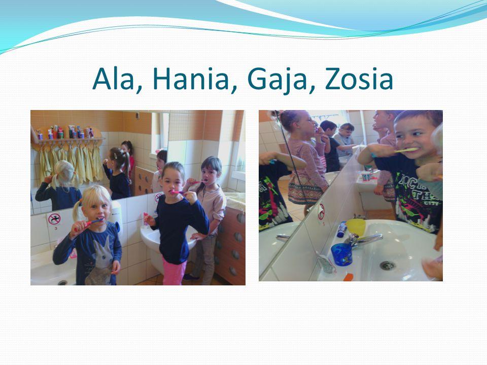 Ala, Hania, Gaja, Zosia