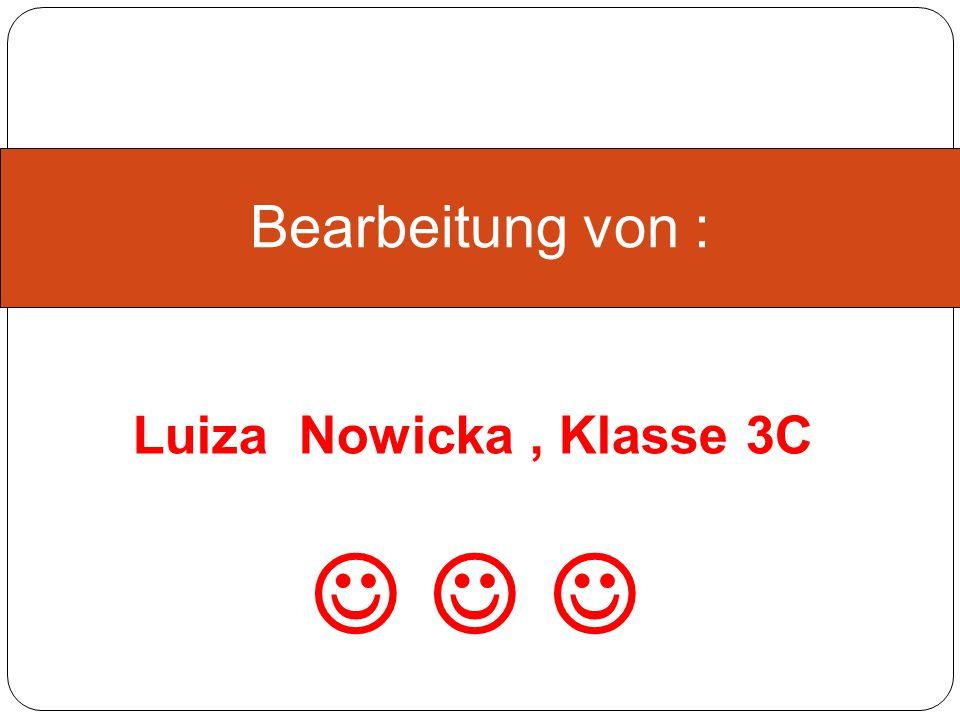 """Od nasionka do słoika Bearbeitung von : Luiza Nowicka, Klasse 3C"