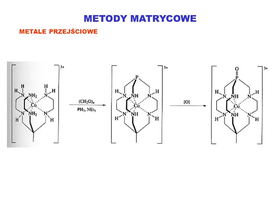 METODY MATRYCOWE METALE PRZEJŚCIOWE
