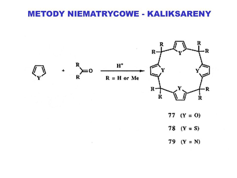 METODY NIEMATRYCOWE - KALIKSARENY