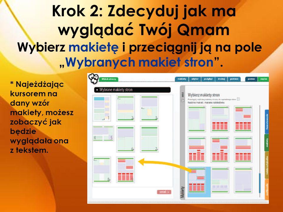 Krok 3: Dodaj zdjęcie Dzięki zdjęciom czy obrazkom tekst będzie przyciągał uwagę.