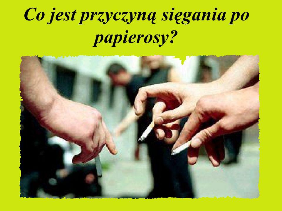 W Polsce papierosy pali około 9 milionów osób.