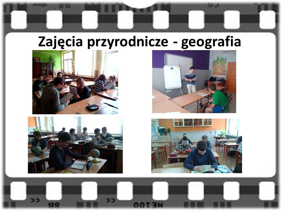Zajęcia przyrodnicze - geografia