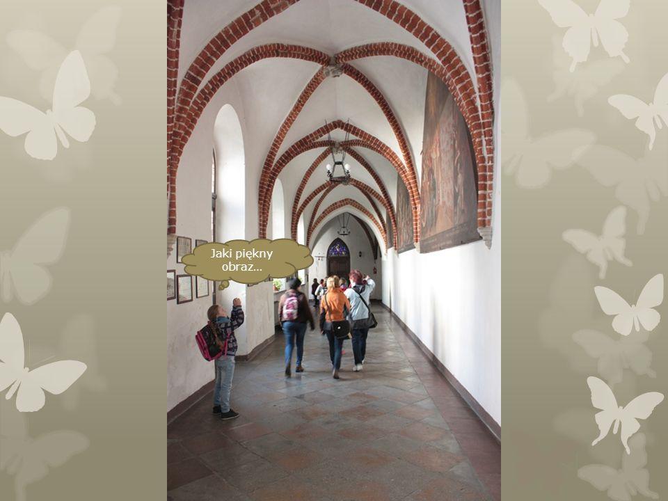 Tutaj jest wejście do klasztoru