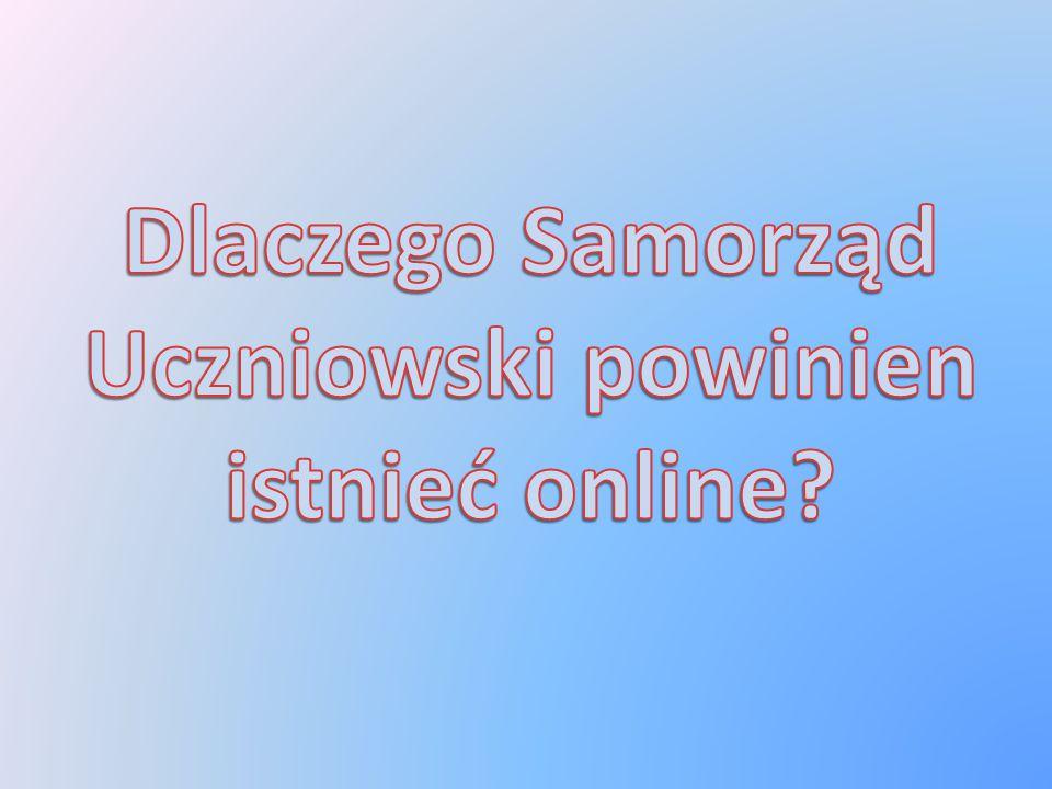Uważamy, że lepsze od strony internetowej byłoby forum, na którym Samorząd Uczniowski będzie: Komunikował się z uczniami, Przekazywał społeczności najważniejsze informacje dotyczące wydarzeń w szkole.