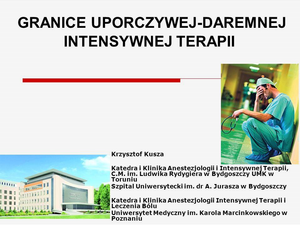 KILKA MIESIĘCY WCZEŚNIEJ  Szanowni Państwo,  W imieniu Krzysztofa Kuszy i swoim własnym zapraszam do udziału w pracach Zespołu Zadaniowego dla Grupy Roboczej do spraw opracowania zaleceń/wytycznych postępowania u pacjentów umierających w oddziałach intensywnej terapii (OIT).