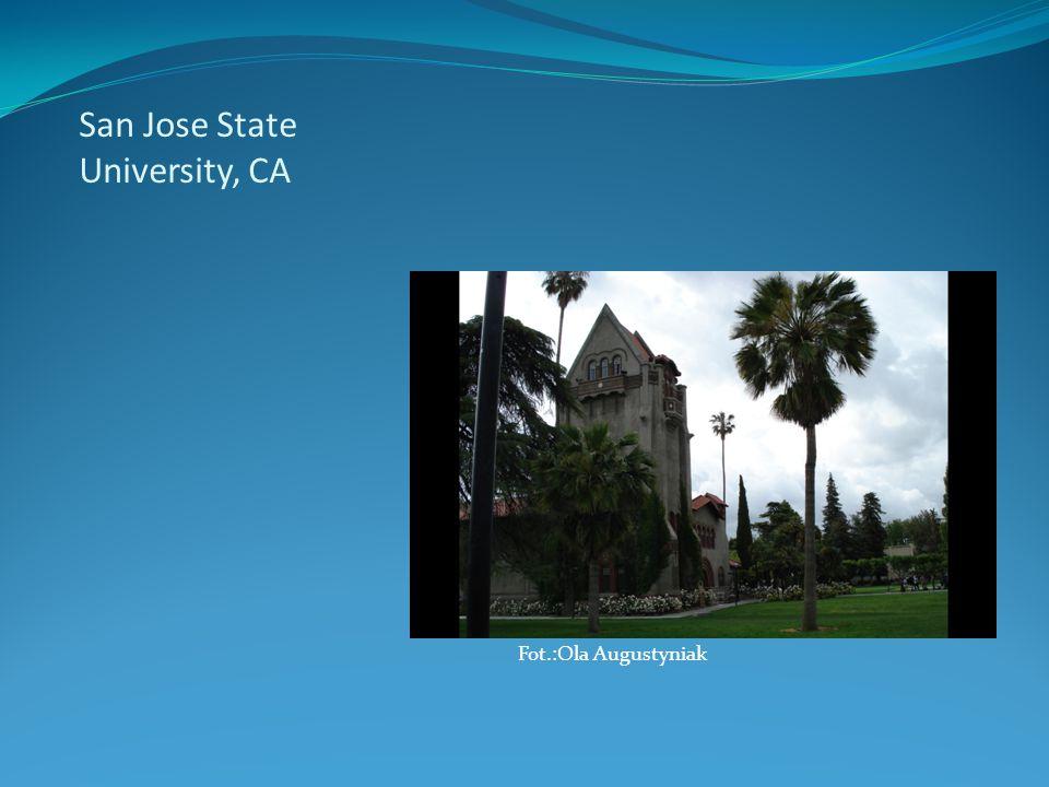 San Jose State University, CA 25 Maja, 2010 Fot.:Ola Augustyniak