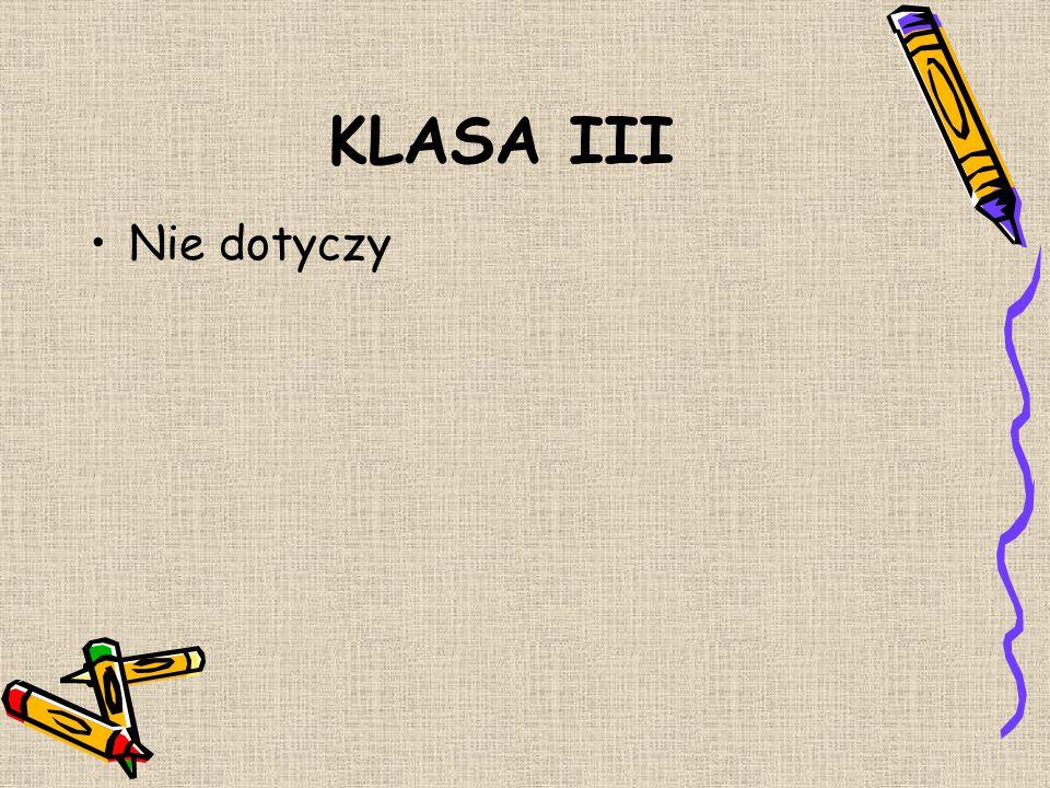 KLASA II Janiszewski Maciej Michalska Martyna