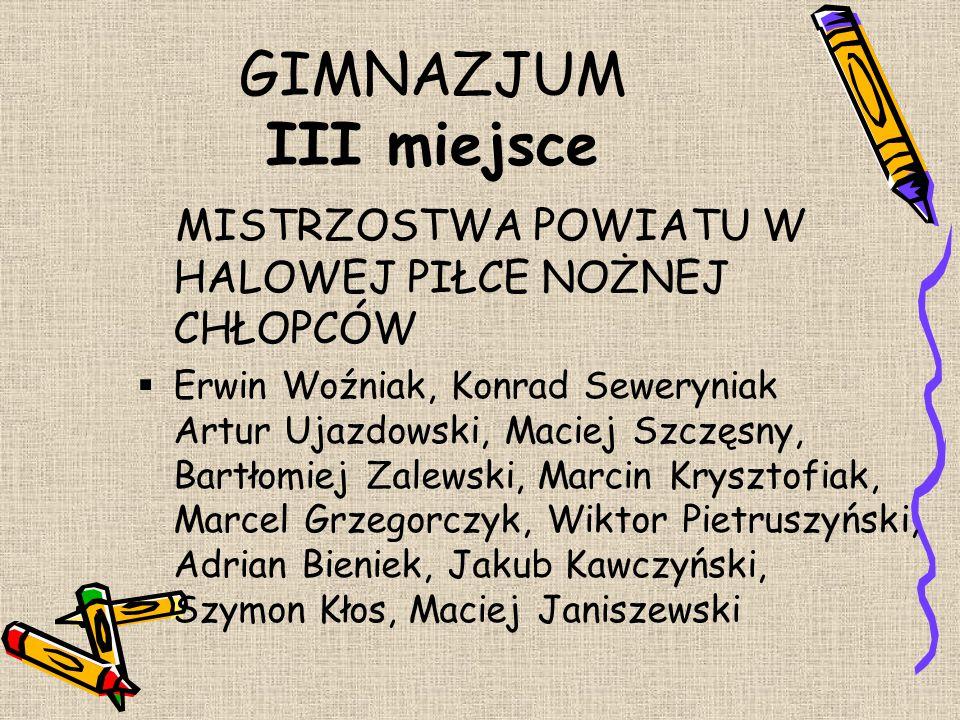 III MIEJSCE GMINNY KONKURS RECYTATORSKI POEZJI PATRIOTYCZNEJ  Zuzanna Kafarska