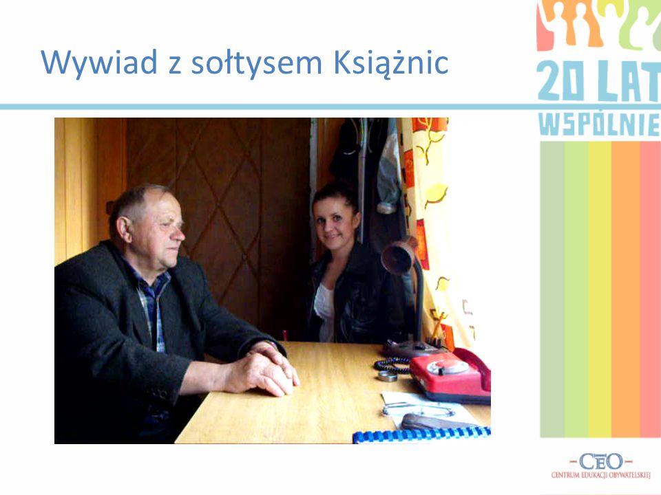 Wywiad z sołtysem Książnic