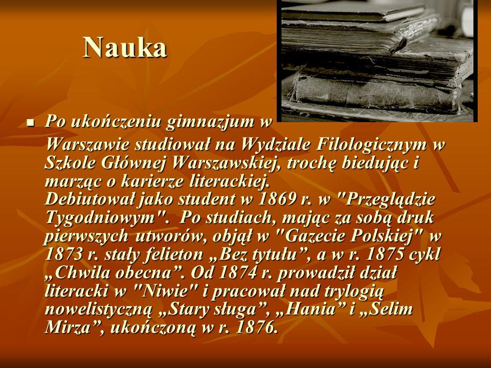 O rodzinie W r.1881 ożenił się z Marią Szetkiewiczówną rodem z Litwy.
