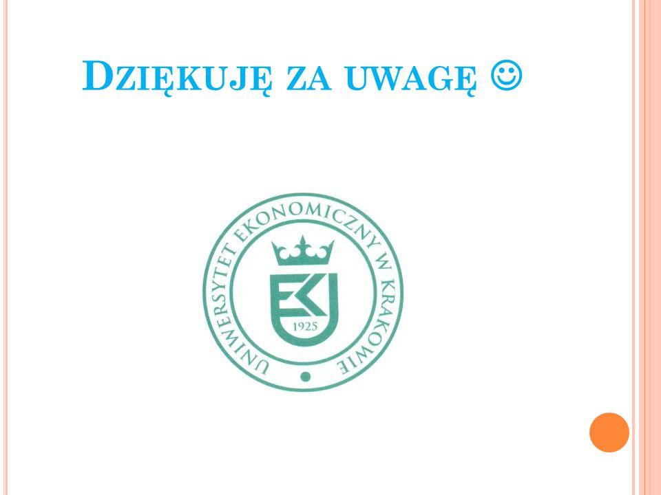 D ZIĘKUJĘ ZA UWAGĘ