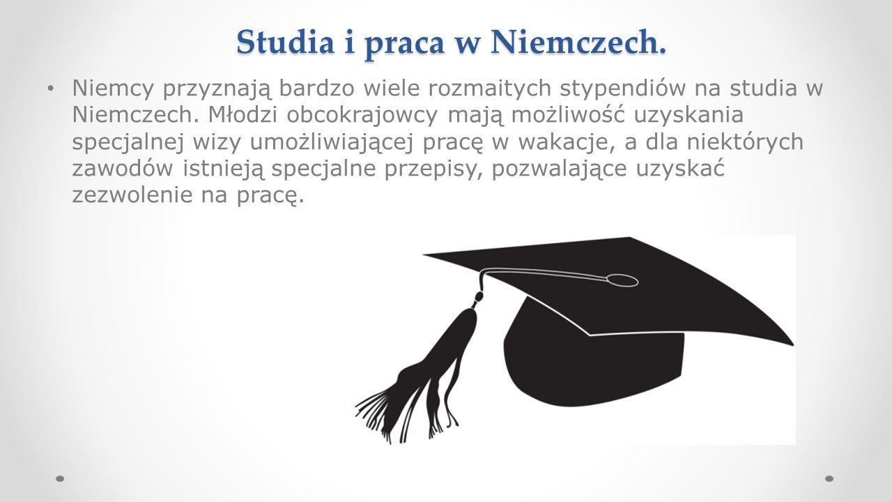 Studia i praca w Niemczech.