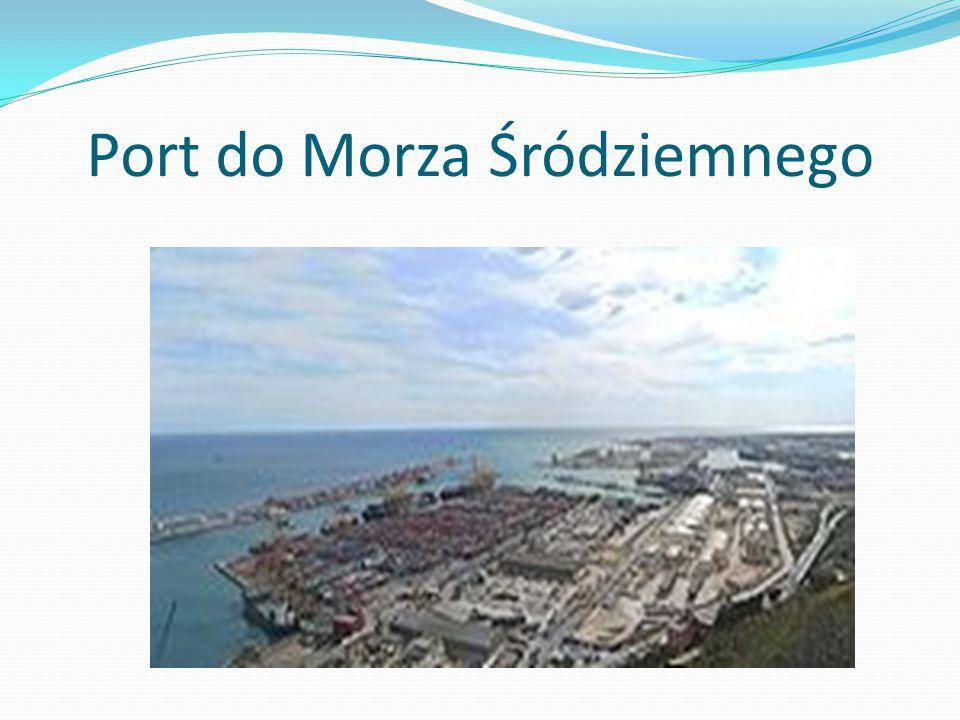 Port do Morza Śródziemnego