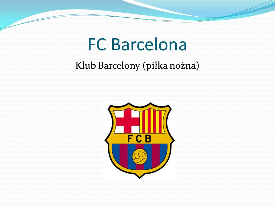 FC Barcelona Klub Barcelony (piłka nożna)