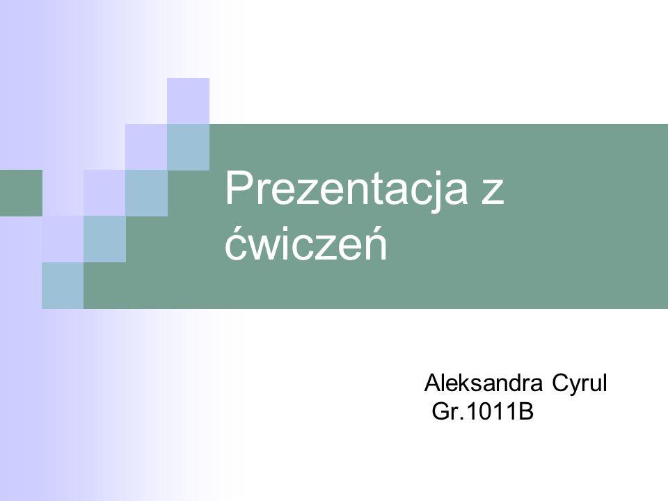 Ćwiczenie 1 życiorys ZYCIORYS Urodziam sie 29 marca 1994 roku w Jarosawiu na Podkarpaciu.