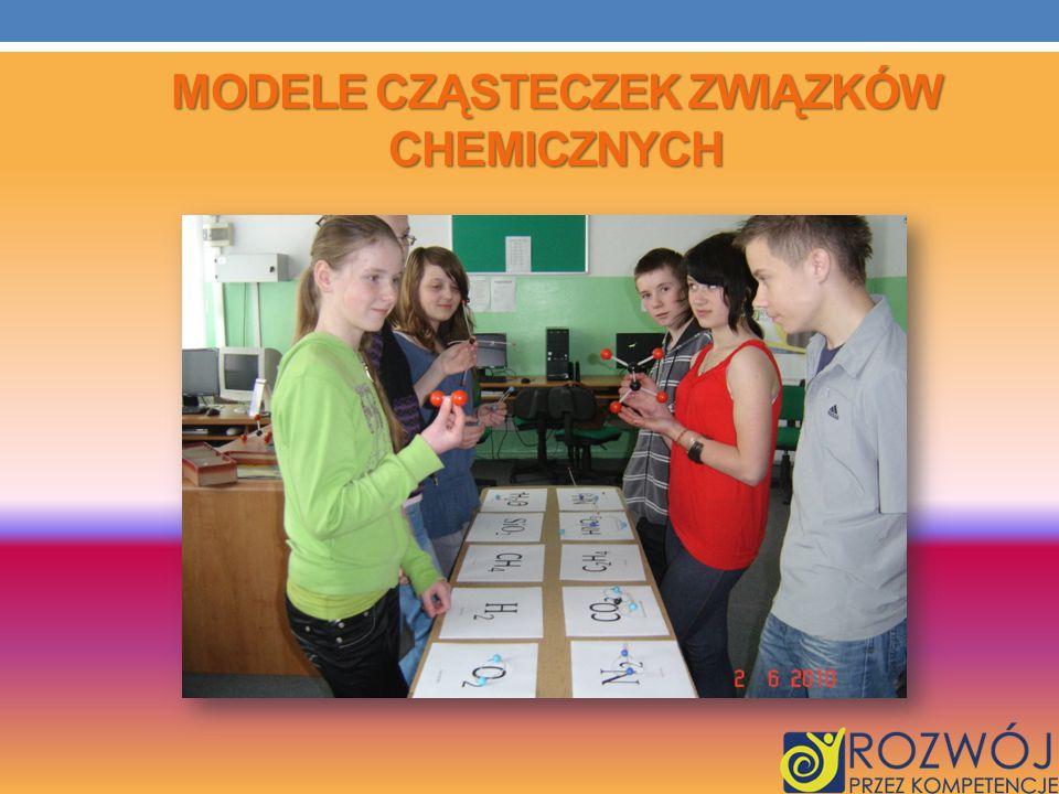 MODELE CZĄSTECZEK ZWIĄZKÓW CHEMICZNYCH