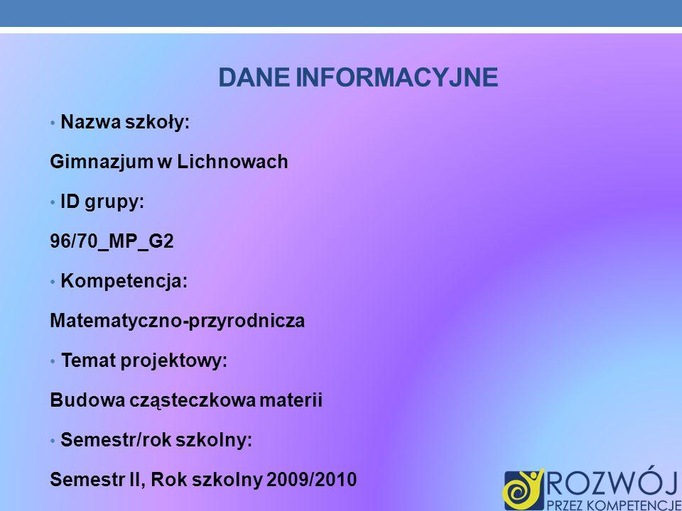 PIERWSZE ZAJĘCIA Na dzisiejszych zajęciach wybraliśmy lidera, kronikarza i sekretarza grupy, podzieliliśmy się na grupy 3- osobowe i szukaliśmy informacji na temat materii.