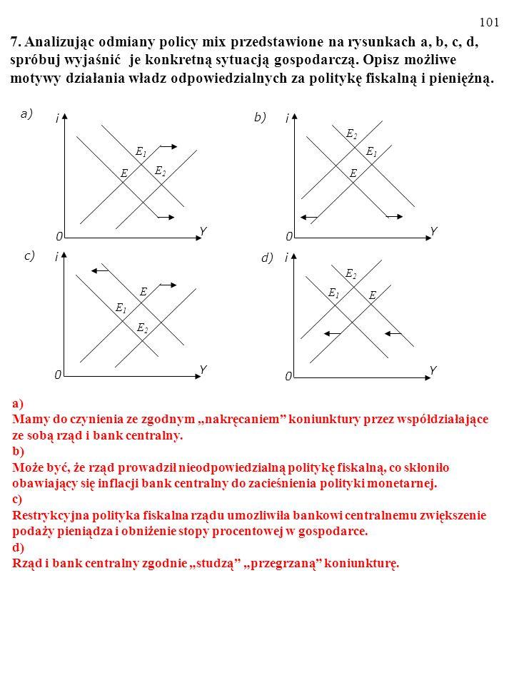 6. a) Wyjaśnij, jak na nachylenie linii IS wpłynie: (i) Zwiększenie się mnoż- nika.