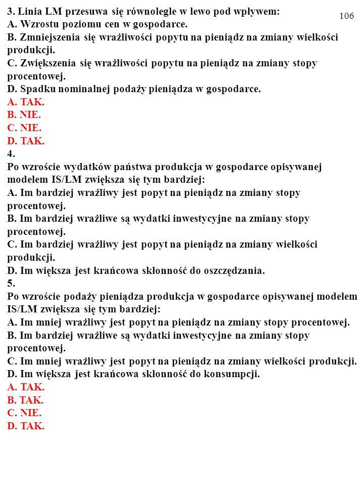 105 Test (Plusami i minusami zaznacz prawdziwe i fałszywe odpowiedzi) A.