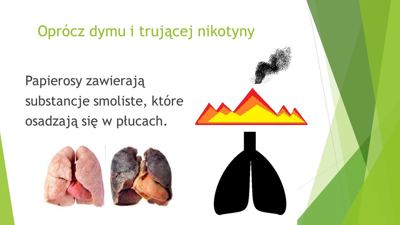 Inną substancją zawartą w papierosach jest arsen  Silna trucizna używana jako składnik TRUTKI NA SZCZURY!