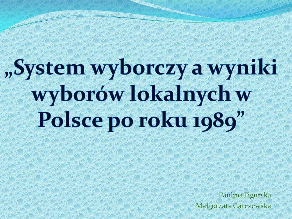 12 Wybory samorządowe w Polsce 2006 Przykład 1 Mamy komitety A, B i C, które otrzymały kolejno 720, 300 i 480 głosów, do obsadzenia jest 8 mandatów.