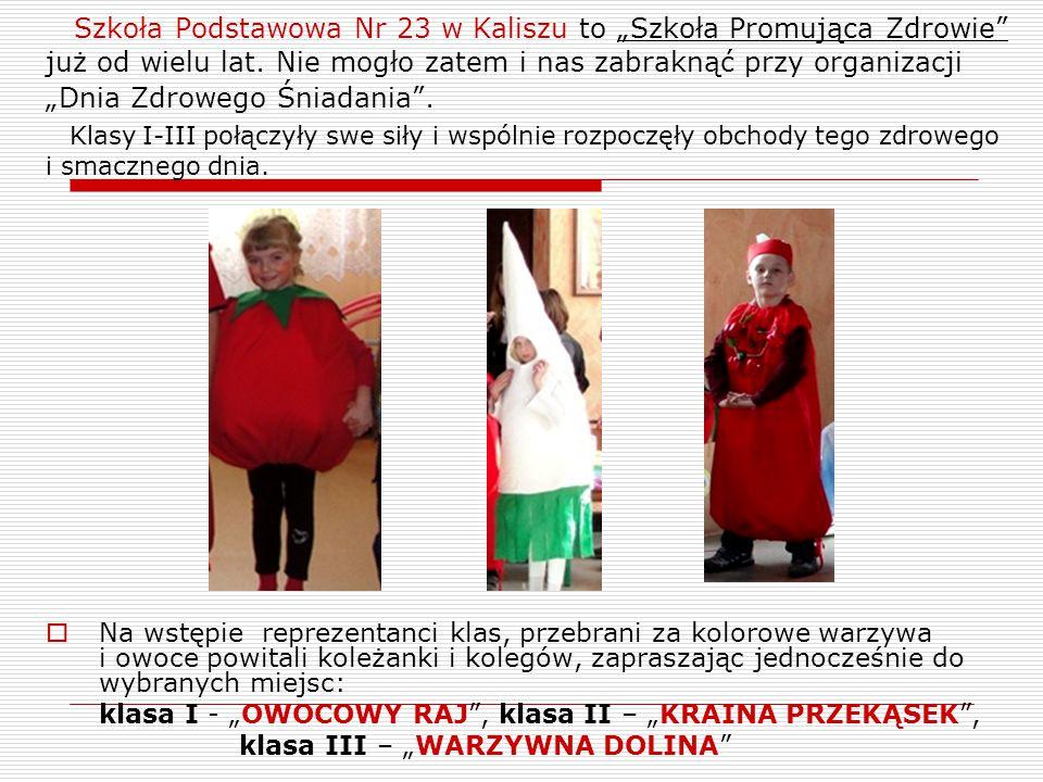 """Szkoła Podstawowa Nr 23 w Kaliszu to """"Szkoła Promująca Zdrowie już od wielu lat."""