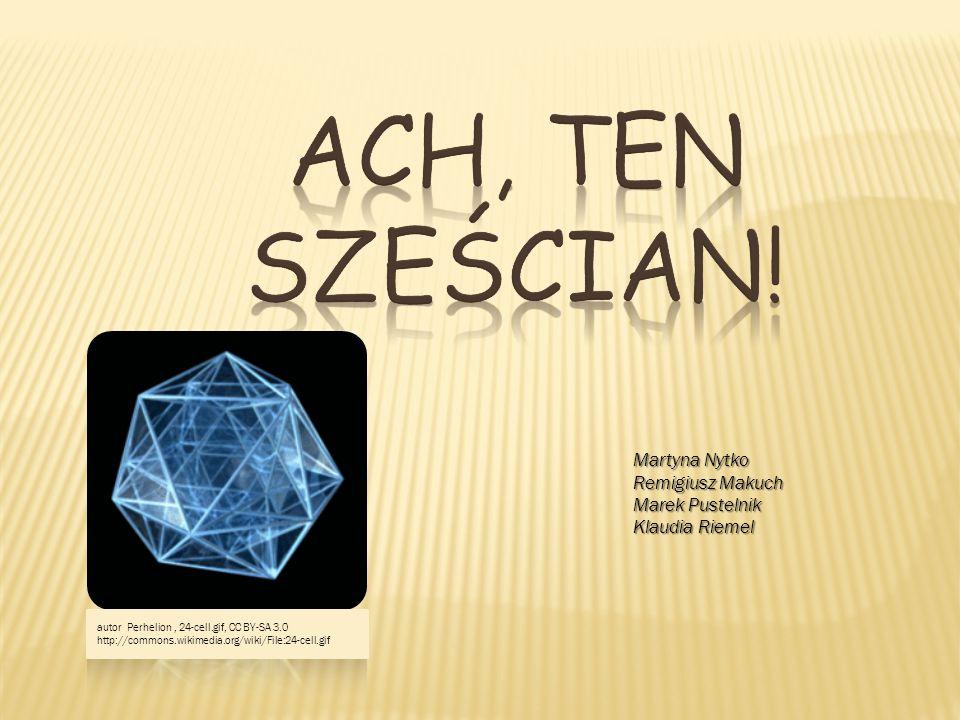 Źródła informacji http://pl.wikipedia.org/wiki/Wielo%C5%9Bcian_foremny http://www.math.edu.pl/wielosciany-foremne http://www.zobaczycmatematyke.krk.pl/Nagrody2011/01-Ciosek/foremne.html http://pl.wikipedia.org/wiki/Plik:Necker_cube.svg http://www.zludzenia.pl/galeria-bryly,5,29,kostka-1.html http://www.gigante.pl/zludzenia-10-2-0