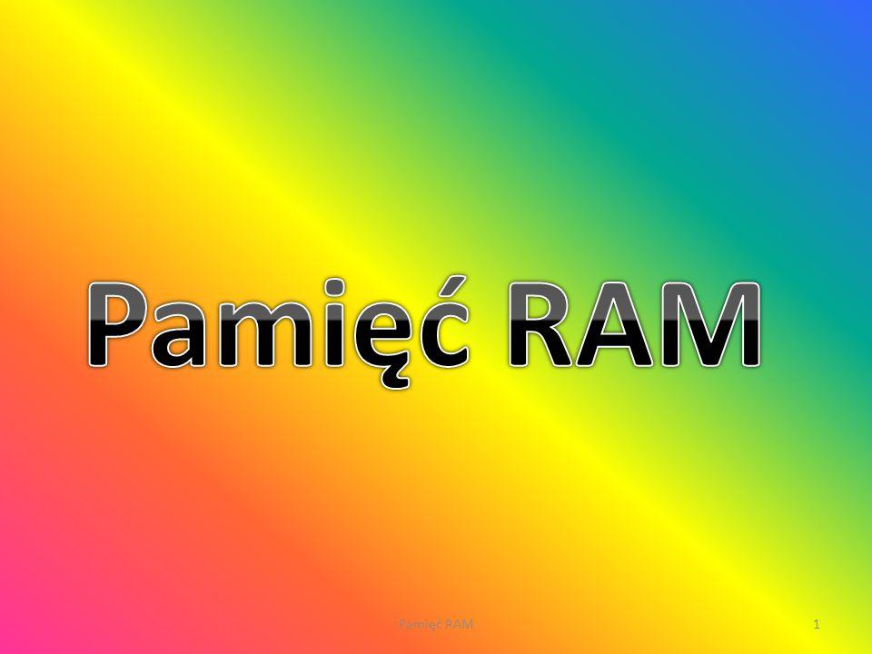 1Pamięć RAM